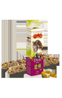 Little One, палочки для хомяков, крыс, мышей и песчанок, Ягоды / Mealberry (Германия,Россия)