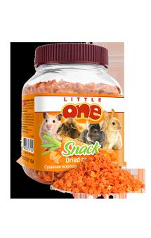 Little One, лакомство для грызунов, сушеная морковь / Mealberry (Германия,Россия)