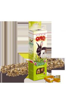Little One, палочки для морских свинок, кроликов и шиншилл, Луговые травы / Mealberry (Германия, Россия)