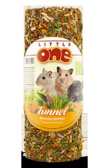 """Little One, лакомство-игрушка для грызунов """"Вкусная лазейка"""", туннель малый / Mealberry (Германия,Россия)"""