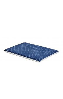 Blue Pet Bed Paxton, лежанка ортопедическая, двухсторонняя, синяя / MidWest (США)