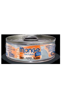 Yellowfin Tuna with Salmon, консервы для кошек Тунец с Лососем / Monge (Италия)