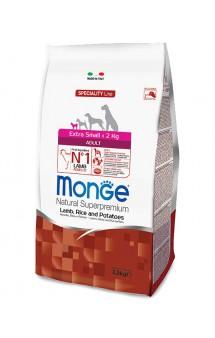 Monge Dog Speciality Extra Small Adult Lamb, Rice and Potatoes, корм для миниатюрных собак, Ягненок с Рисом и Картофелем / Monge (Италия)
