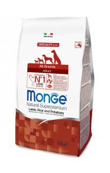 Monge Dog Speciality Adult Lamb, Rice and Potatoes,к орм для собак Ягненок, Рис и Картофель / Monge (Италия)