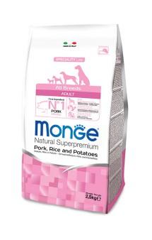 Monge Dog Speciality Adult Pork, Rice and Potatoes,корм для собак Свинина,Рис и Картофель / Monge (Италия)