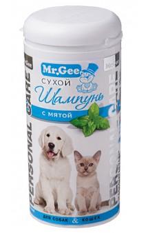Personal Care mint, сухой шампунь с мятой, для собак и кошек / Mr. Gee (Великобритания)