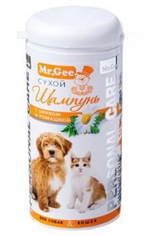 Сухой шампунь с Цинком и Ромашкой, для собак и кошек Personal Care / Mr. Gee (Великобритания)