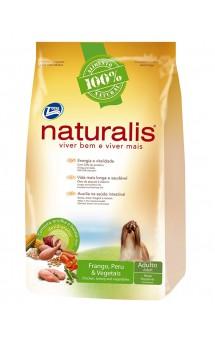 Naturalis Adult Dogs Turkey, Chicken and Vegetables, Small Breeds, корм для мелких пород собак / Naturalis (Бразилия)