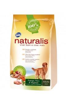 Naturalis Adult Dogs Turkey, Chicken and Vegetables, корм для собак, с кусочками овощей / Naturalis (Бразилия)