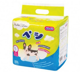 Пеленки гигиенические для домашних животных, М / NekiZoo (Япония)
