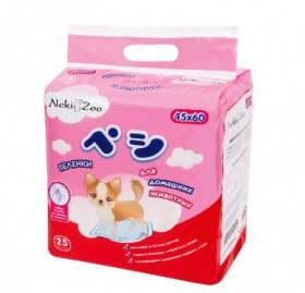 Пеленки гигиенические для домашних животных, S / NekiZoo (Япония)