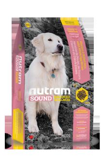 S10 Nutram Sound, корм для пожилых собак / Nutram (Канада)