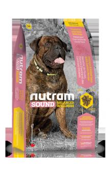 S8 Nutram Sound, натуральный корм для собак крупных пород / Nutram (Канада)