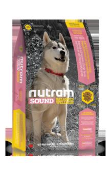 S9 Nutram Sound, натуральный корм c Ягненком для взрослых собак / Nutram (Канада)