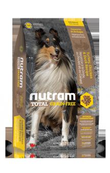 T23 Nutram Total Grain-Free, корм для собак c индейкой, курицей и уткой / Nutram (Канада)