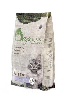 Adult Cat Chicken, Duck, Salmon, корм для кошек Курица, Утка, Лосось / Organix (Нидерланды)