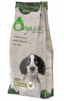 Puppy Chicken, корм для щенков / Organix (Нидерланды)