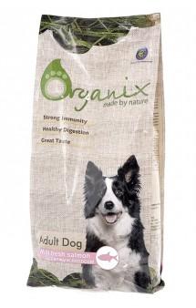 Adult Dog Salmon, корм для собак с Лососем и рисом / Organix (Нидерланды)