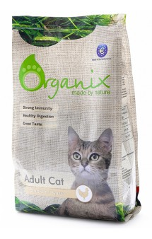 Adult Cat Chicken, корм для кошек с Курицей / Organix (Нидерланды)