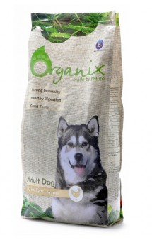 Adult Dog Chicken, корм для собак с Курицей / Organix (Нидерланды)