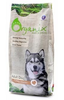 Adult Dog Turkey, корм для собак с Индейкой / Organix (Нидерланды)