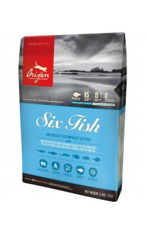 ORIJEN Cat SIX Fish, корм для кошек 6 видов рыб / Champion Petfoods (Канада)