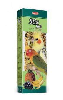 Stix Fruit Parrocchetti, палочки для средних попугаев, с фруктами / Padovan (Италия)