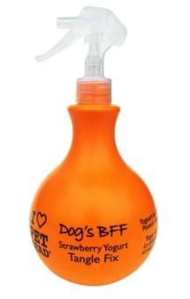DOG'S BFF Клубнично-йогуртовый спрей-уход от колтунов и для блеска шерсти / Pet Head ( США)
