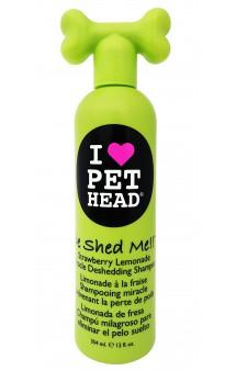 De Shed Me Чудо-Линька, Клубнично-лимонадный шампунь для линяющих собак / Pet Head ( США)