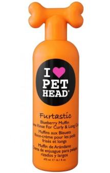 """FURTASTIC """"Пушистик"""" Черничный крем-ополаскиватель для длинношерстных собак  / Pet Head ( США)"""