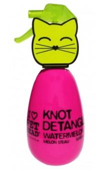 Knot Detangler, Арбузный спрей от колтунов и для блеска шерсти кошек / Pet Head ( США)