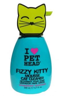 Fizzy Kitty, клубнично-лимонадный шампунь-мусс без смывания, для кошек / Pet Head ( США)