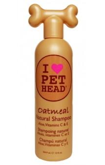"""OATMEAL Шампунь """"100% натуральный"""" для собак с маслом овсянки, жожоба / Pet Head ( США)"""