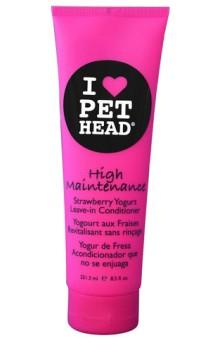 """High Maintenance, """"Телезвезда"""", клубнично-йогуртовый несмываемый кондиционер для собак / Pet Head ( США)"""