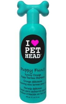 """Puppy Fun """"Щенячий восторг"""" Цитрусовый шампунь для щенков / Pet Head ( США)"""