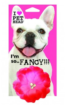 """Flower hot pink, Украшение """"Розовая прелесть"""" / Pet Head ( США)"""