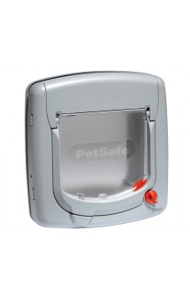 Staywell Manual 4-Way Locking Deluxe Cat Flap, дверца Делюкс для кошек, 4 позиции замка / Petsafe (США)