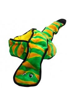 OH Invincibles Snakes Змея, игрушка для собак, 12 пищалок / Petstages (США)