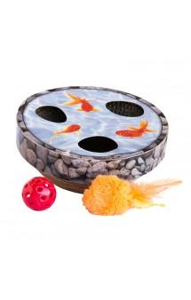 Игрушка для кошек Трек Hide & Seek Wobble Pond / Petstages (США)