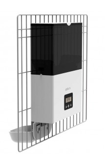 F4 LCD, Автоматическая кормушка с креплением на клетку / Petwant (Китай)
