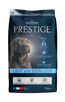 Prestige Light/Sterilised Корм для собак с лишним весом или стерилизованных / Pro-Nutrition Flatazor (Франция)