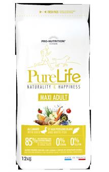 Pure Life Maxi Adult Корм для взрослых собак крупных пород / Pro-Nutrition Flatazor (Франция)