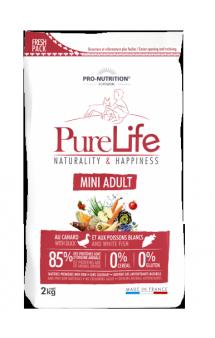 Pure Life Adult Mini Корм для взрослых собак мелких пород / Pro-Nutrition Flatazor (Франция)