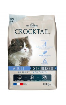 Crocktail Sterilise Light Корм для стерилизованных или склонных к полноте кошек / Pro-Nutrition Flatazor (Франция)