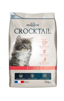 Crocktail Kitten, корм для котят / Pro-Nutrition Flatazor (Франция)