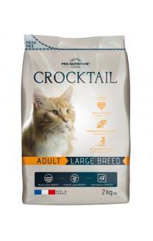 Crocktail Adult Large Breed, корм для кошек крупных пород / Pro-Nutrition Flatazor (Франция)