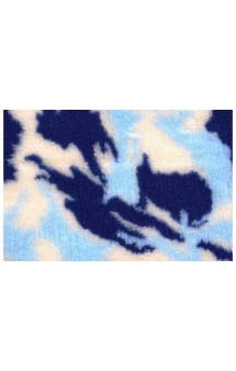 Коврик меховой, камуфляж Синий, 1х1,6 м / ProFleece (Великобритания)