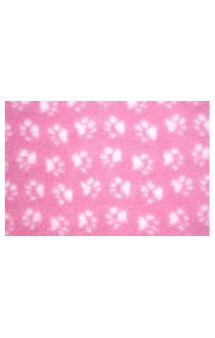 Коврик меховой Розовый, 1 х 1,6 м / ProFleece (Великобритания)