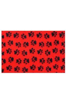 Коврик меховой Красный, 1х1,6 м / ProFleece (Великобритания)