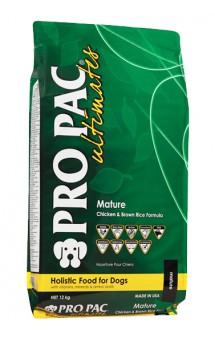 Pro Pac Ultimates Senior, корм для пожилых собак, Курица, рис / Midwestern Pet Foods, Inc. (США)